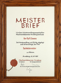 Meisterbrief 1989